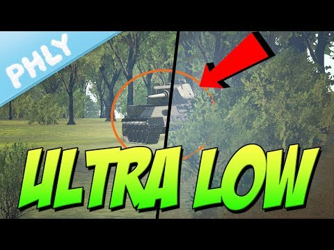 ULTRA LOW QUALITY - It All Makes Sense Now (War Thunder Tanks Gameplay)