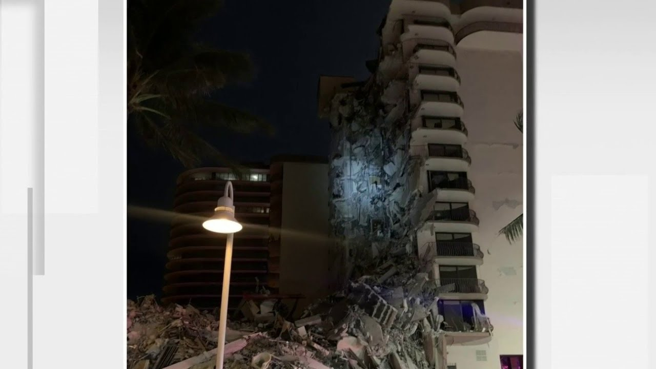 At Least 1 Dead After A 12-Story Building Partially Collapses Near ...