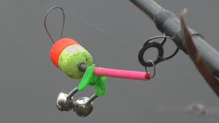 Рыбалка Ловля крупных карасей на пружины осенью и опять карп у жены на поплавок My fishing