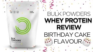 BULK POWDERS WHEY PROTEIN REVIEW