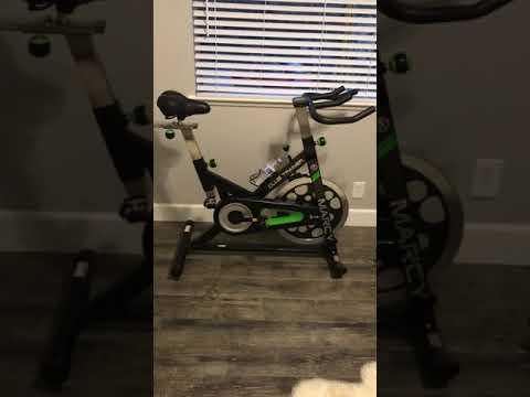 Marcy indoor bike