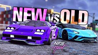 Need for Speed HEAT - NEW vs OLD Lamborghini Edition!