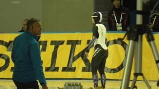 髙木菜那選手がDiv.B女子3000mで1位💕ワールドカップスピードスケート帯広大会、2018/11/18。