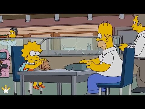 The Simpsons - Homer Simpsons Brings Lisa To Work