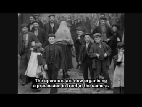 Niños trabajadores en las fábricas inglesas. The Films of Mitchell & Kenyon (1900-1906)