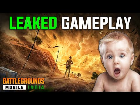 BATTLEGROUNDS MOBILE INDIA LEAKED APK GAMEPLAY