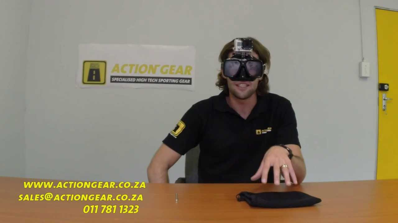 56632a0448f5 Octomask - GoPro Dive Mask - Action Gear intro - YouTube