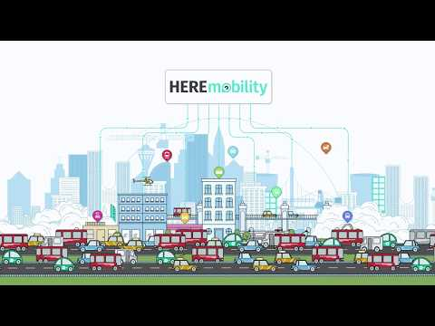Smart Cities and Our HERE Mobility Marketplace