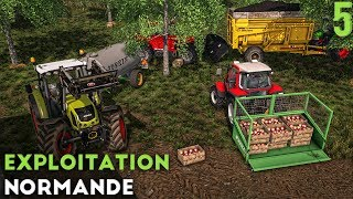 Farming Simulator 17 - Exploitation Normande - On fait du cidre ! (#5)