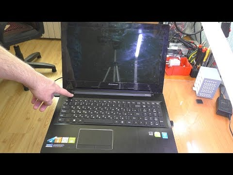 После залития не включается ноутбук Lenovo Z50-70