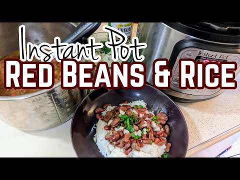 Red Beans and Rice (Instant Pot)