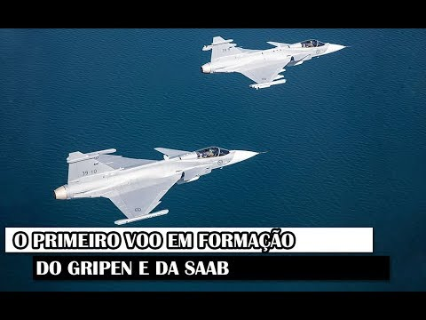 Militar News #108 – O Primeiro Voo Em Formação Do Gripen E Da SAAB