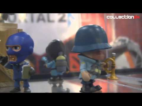 NYTF2014: Crowded Coop- Team Fortress 2 vinyl 3 inch figures- CollectionDX