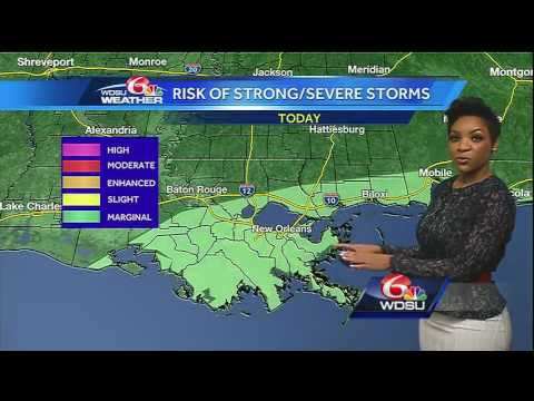 Tuesday AM Videocast: Heavy rain & other threats from Potential Tropical Cyclone Three