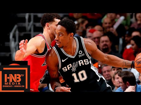 San Antonio Spurs vs Chicago Bulls Full Game Highlights | 11.26.2018, NBA Season