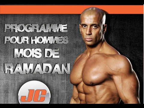 Programme Entrainement  Ramadan Homme