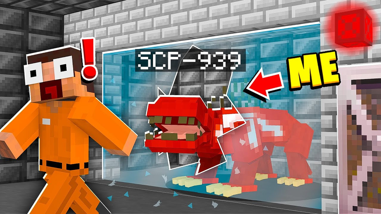 I Became SCP-939 in MINECRAFT! - Minecraft Trolling Video