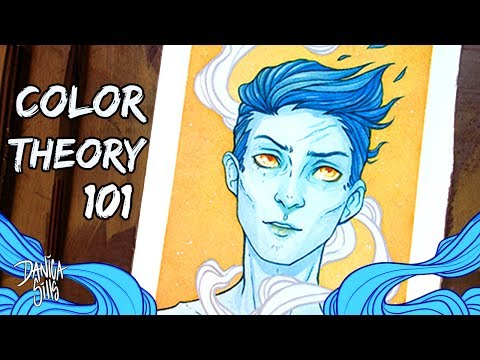 Daydream ♦ Color Theory 101: Complementary ♦ Watercolor Speedpaint