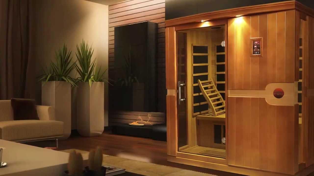 saunas infrarrojos en tu hogar para quemar calorias y mejorar tu salud