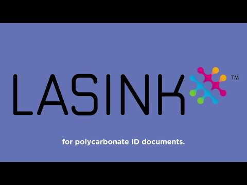 Lasink, the most secure and durable color technology for polycarbonate ID documents