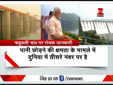 PM Narendra Modi inaugurates world's second-biggest dam 'Sardar Sarovar'