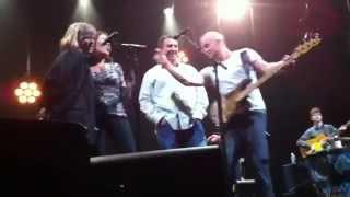 Carlye singing with Sting!