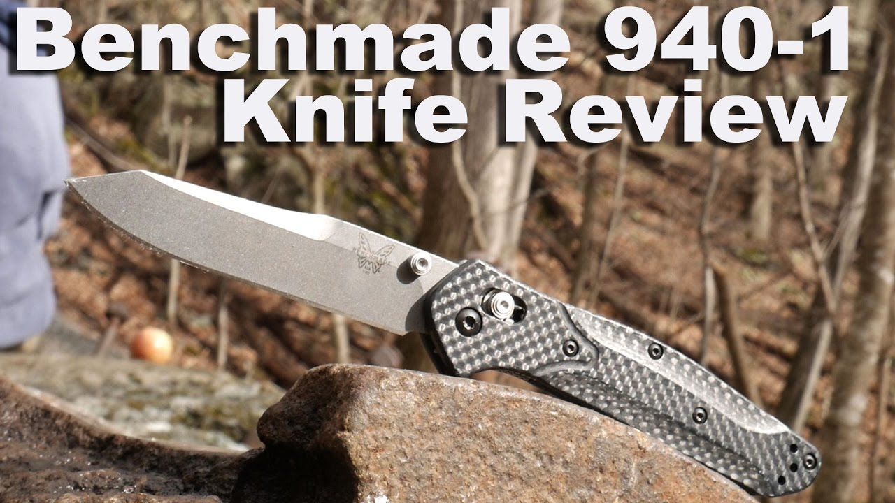 Benchmade 940 1 Osborne Knife Review  The Best EDC knife ever?