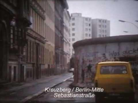 Die Berliner Mauer 1988