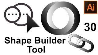Инструмент Создание фигур Adobe Illustrator Параметры Настройки Shape Builder Оptions Курс 🏰Урок 30