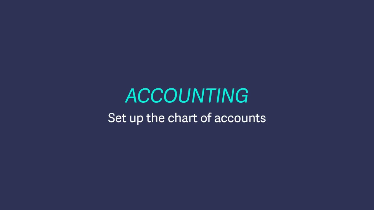 Sage Business Cloud Accounting (UK and Ireland) - Set up Chart of Accounts