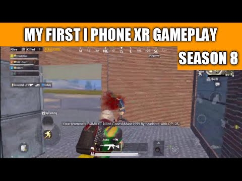 My New I Phone XR Pubg Mobile Gameplay | Pubg Mobile Season 8 Gameplay 😂