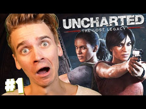 WE'RE GOING ON AN ADVENTURE | Uncharted Lost Legacy #1