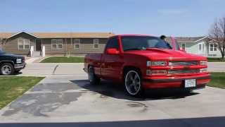 Repeat youtube video Lowered 1996 chevy c1500 drive by
