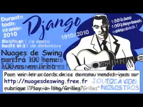 Jardin d\'hiver : play-back n°061 (Nuages de Swing 100 years Django 100 new  play-a-long)