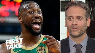 Everyone in Boston is happier with Kemba Walker there - Max Kellerman | First Take