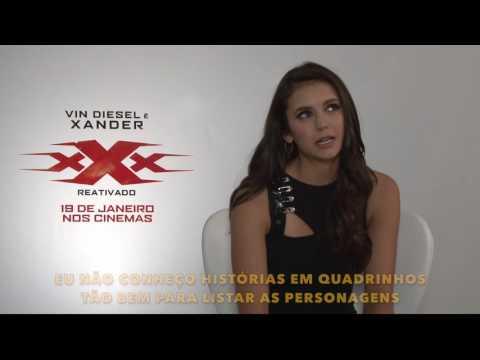 Nina Dobrev fala sobre 'Triplo X - Reativado' e revela que gostaria de viver a Mulher-Gato
