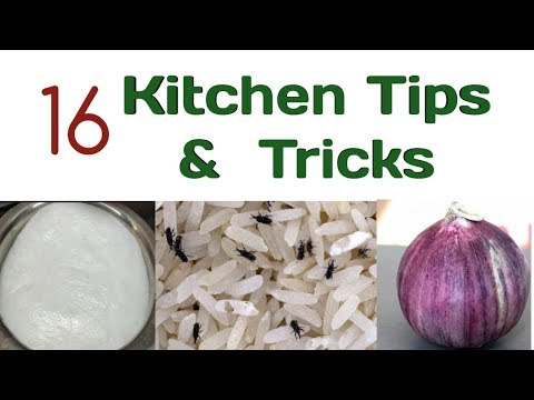 16 Very Useful Kitchen Tips and Tricks - INDIAN KITCHEN TIPS AND TRICKS