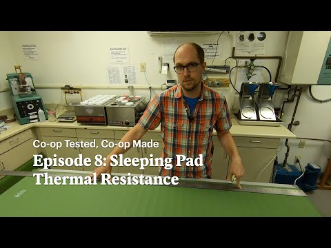 REI | Co-op Tested, Co-op Made: Sleeping Pad Thermal Resistance // Ep8