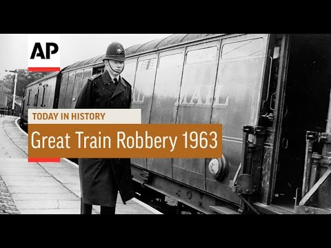 Great Train Robbery - 1963 | Today in History | 8 Aug 16