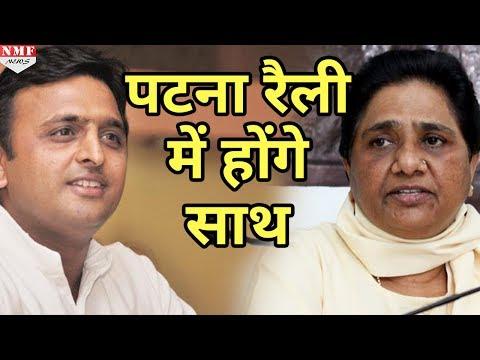 Patna Rally में साथ आएंगे Akhilesh-Mayawati, SP-BSP में होगा गठबंधन ?