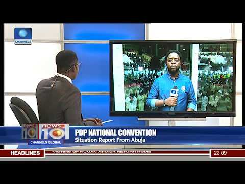PDP National Convention: Situation Report From Abuja