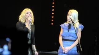"""You've Got a Friend"" - Miranda Lambert and Ashley Monroe at C2C, London, 2016."