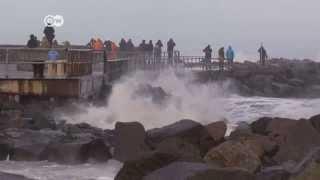 عاصفة قوية تضرب شمال ألمانيا | الجورنال