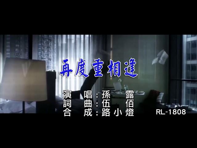 孫露   再度重相逢   (1080P)KTV