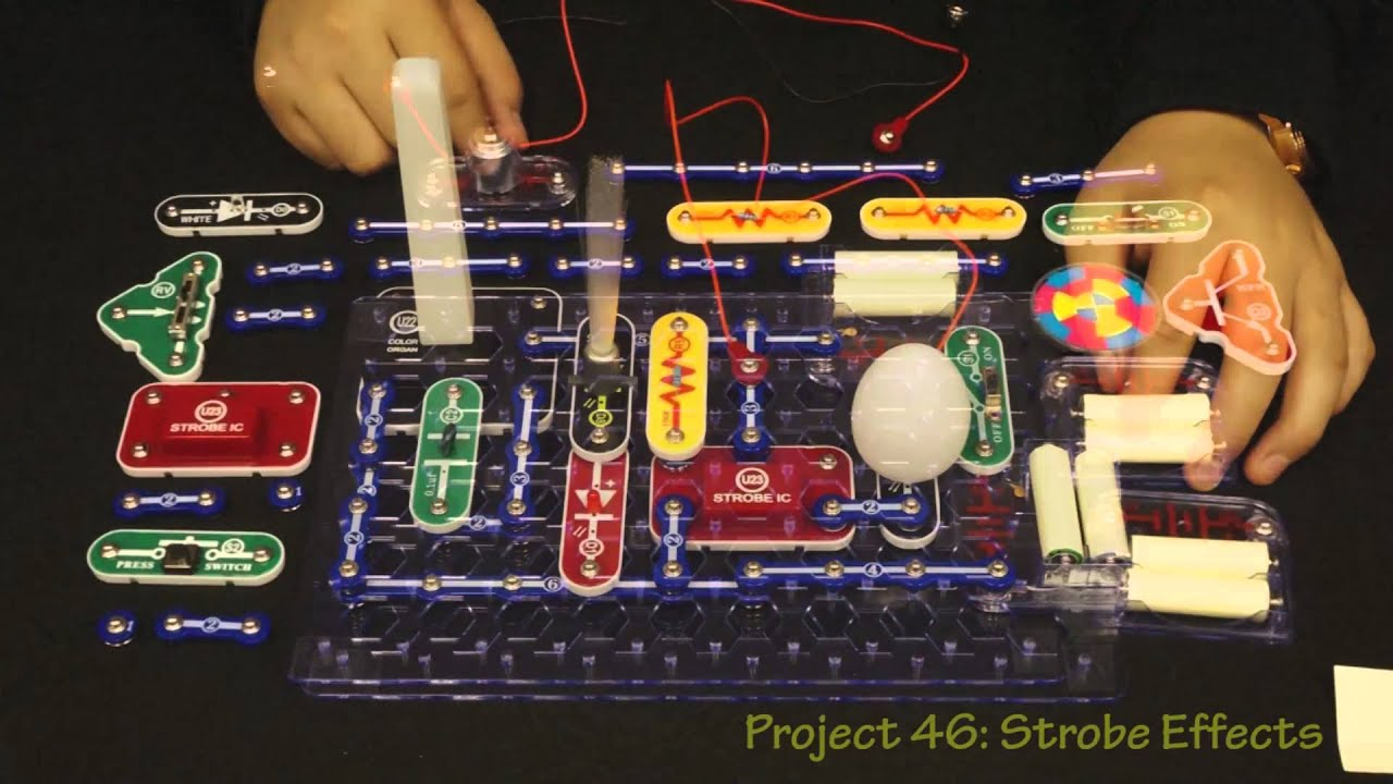 Snap Circuits Light Model Scl 175 Youtube Simple For Kids To Make Hqdefaultjpg