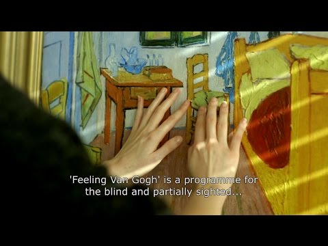 Feeling Van Gogh - a programme for the blind and visually impaired visitors