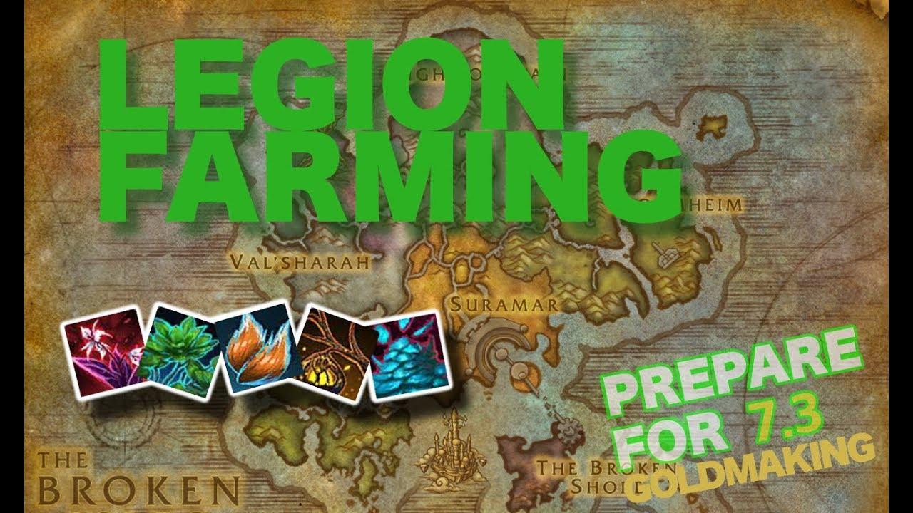 Legion: foxflower farming guide | herbalism | youtube.