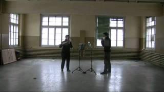 Duo de flûtes basses - Les Chemins de Traverse
