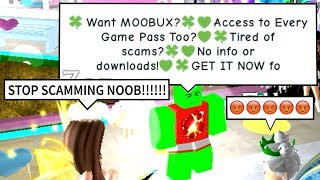PRETENDING TO BE A SCAM BOT ON ROBLOX