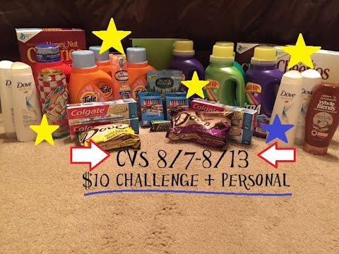 CVS Haul 8/7-8/13-- Huge Savings $$$$!!!!